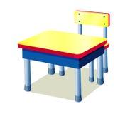 Table d'école Photos libres de droits
