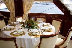 Table d'élégance Image stock
