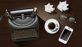 Table d'auteur Image stock