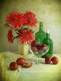 Table d'automne Photo stock