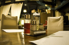 Table d'hôtel Image stock