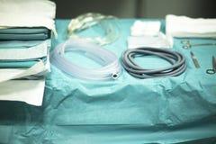 Table d'instrumentation de chirurgie images libres de droits