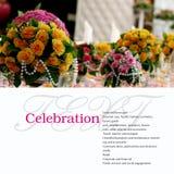 Table de banquet Photos stock