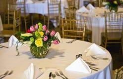 Table de banquet Photo stock