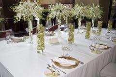 Table de banquet Photo libre de droits