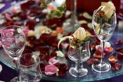 Table de banquet Images libres de droits