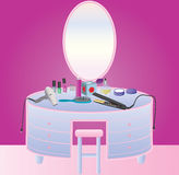 Table de Bathroom Photos libres de droits