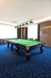 Table de billard Image stock