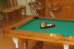 Table de billard Images stock