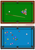 Table de billard Photographie stock libre de droits