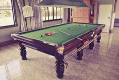 Table de billard Photo libre de droits