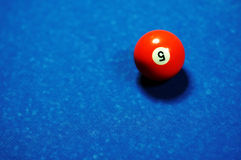 Table de billard Photos libres de droits