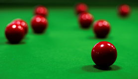 Table de billard Photos stock