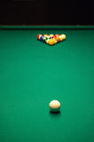 Table de billard ou billards Images libres de droits