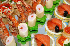 Table de buffet Image stock