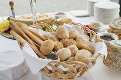 Table de buffet Photos stock