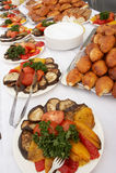 Table de buffet image stock