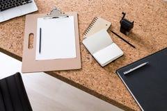 Table de bureau Photographie stock libre de droits
