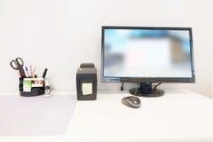 Table de bureau de docteur Photo stock