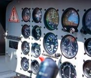 Table de commande d'hélicoptère Photos libres de droits