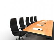 Table de conférence Photographie stock libre de droits