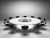 Table de conférence Photographie stock