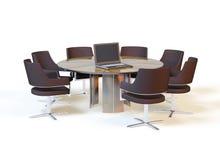 Table de conférence Images stock