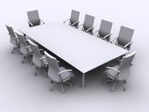 Table de conférence Photo libre de droits