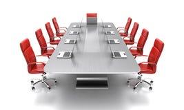 Table de conférence. Photo libre de droits