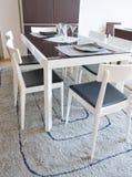 Table de cuisine Photographie stock