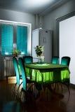 table de cuisine Photo stock