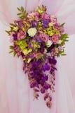 Table de décor de mariage Images libres de droits