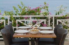 Table de dîner image stock