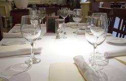 Table de dîner Photo libre de droits