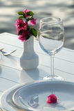 Table de dîner Images stock