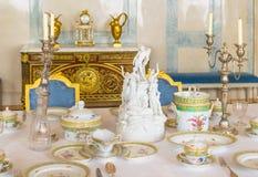 Table de dîner de fantaisie Photos libres de droits