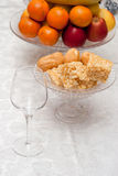 Table de dessert Photographie stock libre de droits
