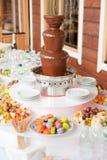 Table de dessert Images stock
