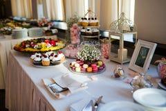 Table de dessert Photo libre de droits