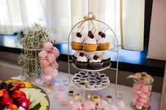 Table de dessert Photos libres de droits