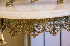 Table de fer travaillé Image stock