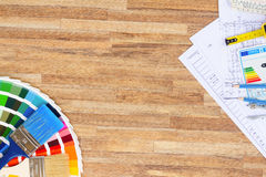 Table de fonctionnement du concepteur Photo libre de droits