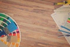 Table de fonctionnement du concepteur Images stock
