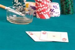 Table de jeu. image libre de droits