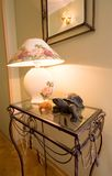Table de lampe. Image stock