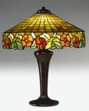 table de lampe tiffany Photos stock