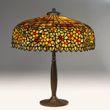 table de lampe tiffany Image stock