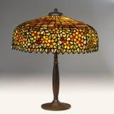 table de lampe tiffany Image stock