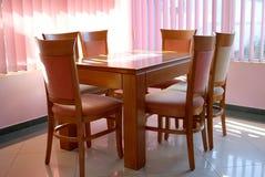 table de luxe de cuisine Photographie stock libre de droits