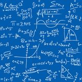 Table de maths Images stock
